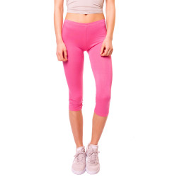 Basic Capri Leggings Pink