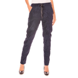 Jogger Hose in Wildleder-Optik